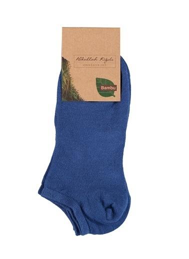 Abdullah Kiğılı 2'li Çorap Mavi